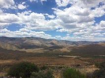 Solnedgångpunkt Arizona Arkivfoton
