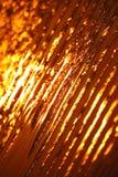 Solnedgångsandbakgrund Arkivbild