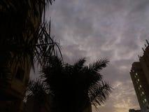 Solnedgångsikt fotografering för bildbyråer