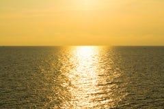 Solnedgångsikt Arkivbilder