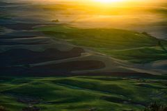 Solnedgångsikt från den Steptoe butten fotografering för bildbyråer
