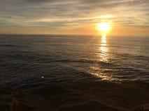 solnedgångstrand Cali Royaltyfri Foto