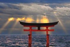solnedgångtori Arkivfoton