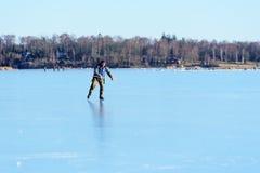 Solo łyżwiarstwo Zdjęcia Royalty Free