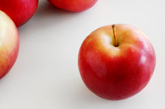 Solo apple. Apple isolated Royalty Free Stock Photo
