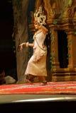 Solo Apsara dancer Stock Photo