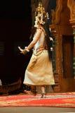 Solo Apsara dancer Stock Images