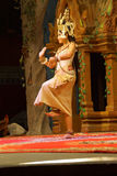 Solo Apsara dancer Stock Photo