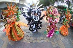 Solo batik carnival stock image