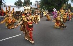 Solo batik carnival stock photo