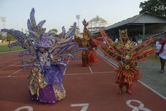 THE 2015 SOLO BATIK CARNIVAL PLAN Royalty Free Stock Image