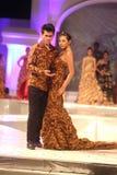 Solo Batikmanier Royalty-vrije Stock Afbeelding