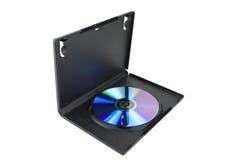 Solo caso de DVD por completo Fotografía de archivo