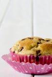 Solo chocolate Chip Muffin del plátano Foto de archivo libre de regalías