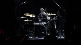 Solo drums stock footage