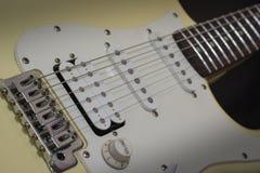 Solo elektryczna ołowiana gitara, muzyki rockowej pojęcie zdjęcie royalty free