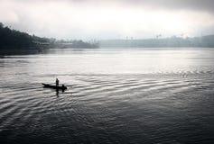 Solo en el agua Imagen de archivo libre de regalías