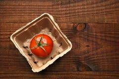 Solo envase de la producción del tomate Fotografía de archivo libre de regalías