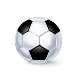 Solo fútbol aislado en blanco libre illustration