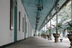 Solo- Gebäude Keraton stockbilder