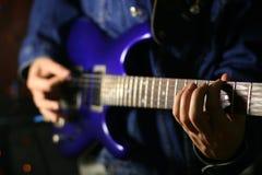 Solo guitar Stock Photos