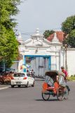 Palace in Surakarta, Java, Indoensia Royalty Free Stock Photo