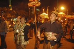 SOLO INDONESIAN CARNAVAL CITY Stock Photo