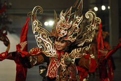 SOLO INDONESIAN CARNAVAL CITY Royalty Free Stock Photo