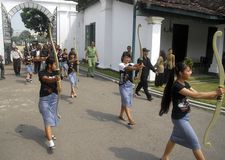 SOLO INDONESIAN CULTURAL CAPITAL Stock Photography