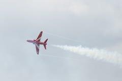 Solo jet del T1 del halcón en salón aeronáutico Foto de archivo libre de regalías