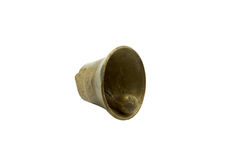 Solo latón o bronce Bell Fotos de archivo libres de regalías