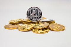 Solo Litecoin Stock Afbeeldingen