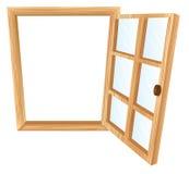 Solo marco de ventana Imágenes de archivo libres de regalías