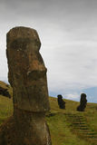 Solo Moai Royalty Free Stock Photos