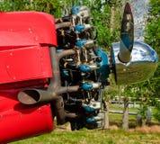 Solo motor del propulsor de la lámina Fotos de archivo