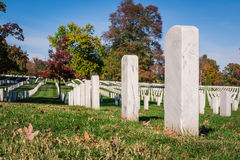 Solo nacional Cem de Arlington de la superficie de la textura de la lápida mortuaria del primer imagen de archivo libre de regalías