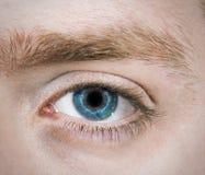 Solo ojo azul Fotos de archivo libres de regalías