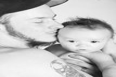 Solo padre Foto de archivo libre de regalías