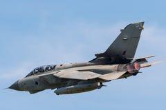 A solo Panavia Tornado GR4 aircraft stock images