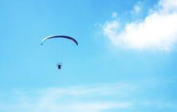 Solo paracaídas Imagen de archivo