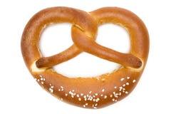 Solo pretzel Foto de archivo libre de regalías