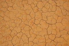 Solo rachado muito seco Fotografia de Stock