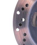 Solo rotor del freno de disco de una motocicleta foto de archivo libre de regalías
