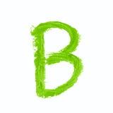 Solo símbolo de letra del ABC aislado Fotos de archivo libres de regalías