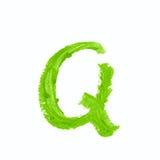 Solo símbolo de letra del ABC aislado Imagenes de archivo