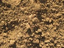 Solo seco da sujeira Fotografia de Stock