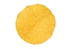 Solo shell del tostada en blanco Foto de archivo libre de regalías