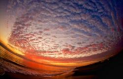 Solo soluppgång Royaltyfri Bild