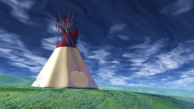 Solo Teepee Stock Images