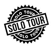Solo Tour rubber stamp Stock Photography